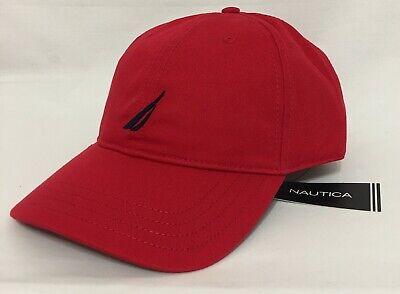 Nautica Men's Baseball Cap One Size Red  (6060)