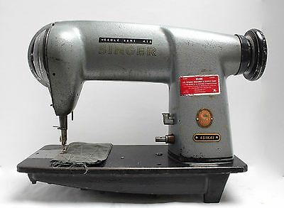 Singer 451k41 Vintage Lockstitch High Speed Industrial Sewing Machine Head Only