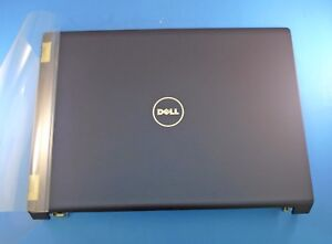 New AUTHENTIC Dell Studio 1735 1737 Blue LCD Back Cover w/ Hinges N269C