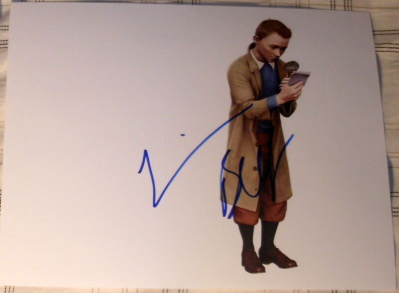 "JAMIE BELL SIGNED AUTOGRAPH BRAND NEW ""TIN TIN"" MAGNIFYING GLASS PROMO PHOTO COA"