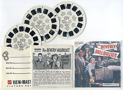 The BEVERLY HILLBILLIES 1963 TV Show View-Master with Color Copy Front Cover
