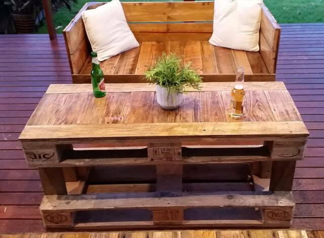 Seat, Outdoor cafe seating, reclaimed timber seating ...