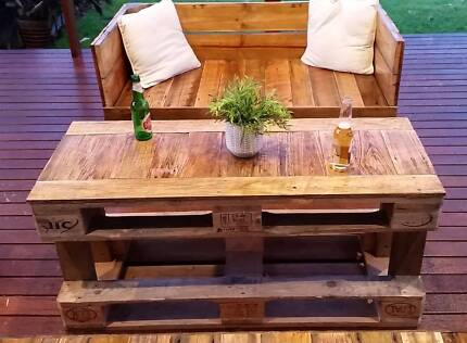 Seat Outdoor Cafe Seating Reclaimed Timber