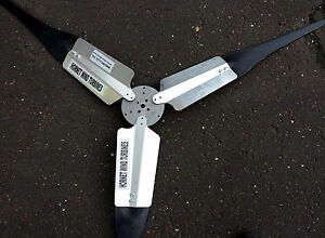 Wind generator Wind turbine blades for LOW WIND ZONES 7ft diameter UK made