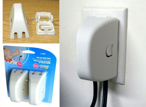 ChildSafe Plug and Outlet Cover For Child Proofing Your Home - 2 pack