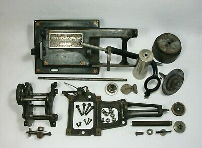 w Vtg PARTS LOT for Edison HOME PHONOGRAPH & Model H 4 MINUTE REPRODUCER