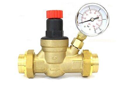 Water Pressure Regulator Valve 34 Inch For Rv Camper Travel Trailer Lead- Free