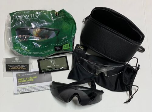 New In Package Revision Sawfly Military Eyeware System
