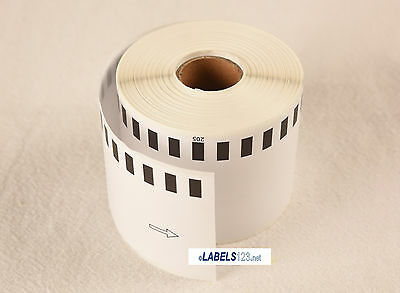 6 Rolls Of Labels123.net Brand-fit Brother Dk-2205 Ql-700 Ql-500 Continuous Roll