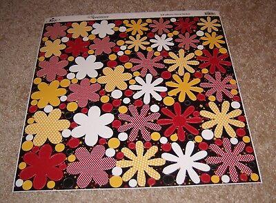 Dot Flowers (Reminisce Real Magic 12x12 DieCut Sticker Sheet ~ Disney Polka Dot)
