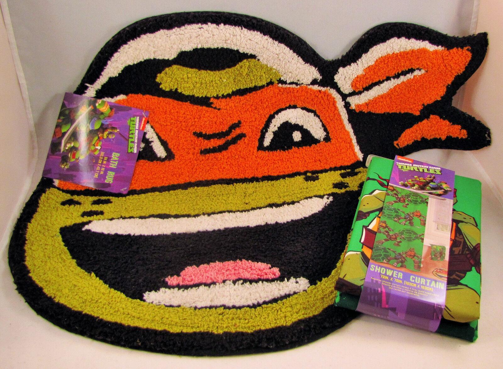 NEW Teenage Mutant Ninja Turtle TMNT Bathroom Set