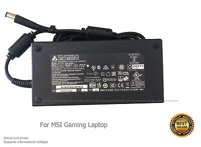 AC Adapter - Power Supply Charger for MSI GT72 2qe-608xhu Gaming Laptop