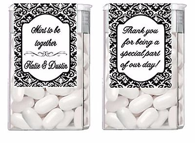 Wedding Engagement ANY COLOR Mint to Be Mints Party Favors Labels - Mint To Be Wedding Favors