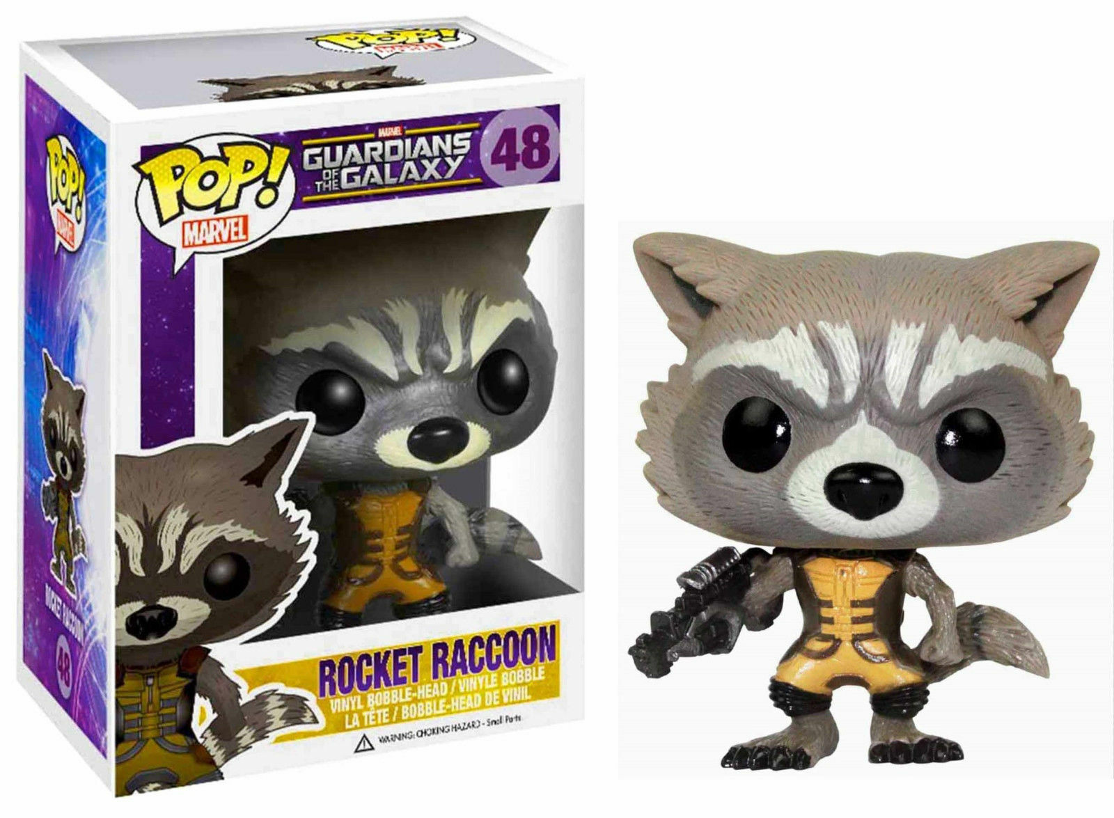 Funko Pop Marvel Guardians of The Galaxy - Rocket Raccoon Vi