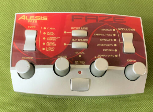 ALESIS MODFX Faze mod fx  phaser phase effects processor