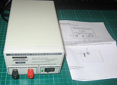 SHARMAN multiCOMM 5 - 7 AMP SWITCH MODE POWER SUPPLY UNIT CB RADIO PSU