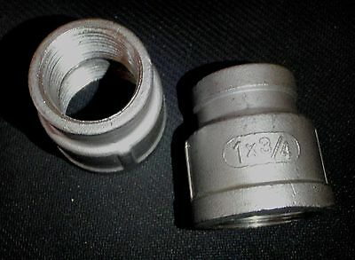 Stainless Steel Reducer Coupling 1 X 34 Npt Pipe Rc-100-075