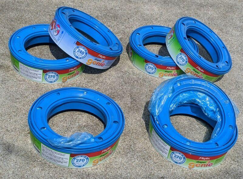 Playtex Diaper Genie Refill Bags - 6 Pack Refill - see photos