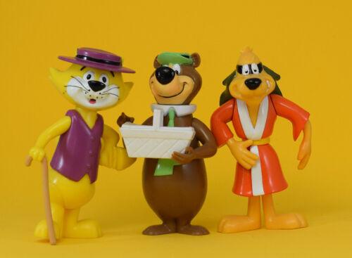 Hanna Barbera - Top Cat - Hong Kong Phooey - Yogi Bear - Vintage Figures RARE!