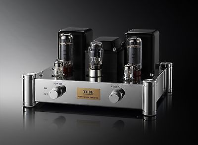 Stereo EL34 Tube Amplifier Class A Single End Vintage Intergrated Power AMP 1PC