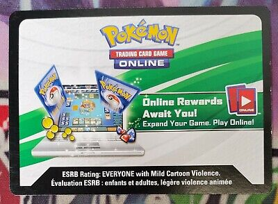 Pokemon Trainer's Toolkit PTCGO Code Card - Email/ Message