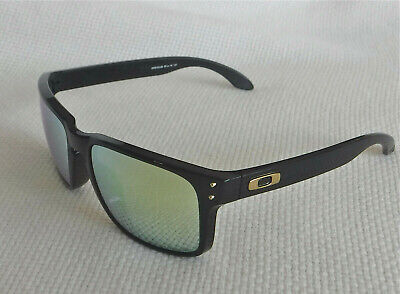 """New Oakley Holbrook """"Shaun White"""" Sunglasses Black / 24K Gold w Gold O 9102-08 for sale  Shipping to India"""