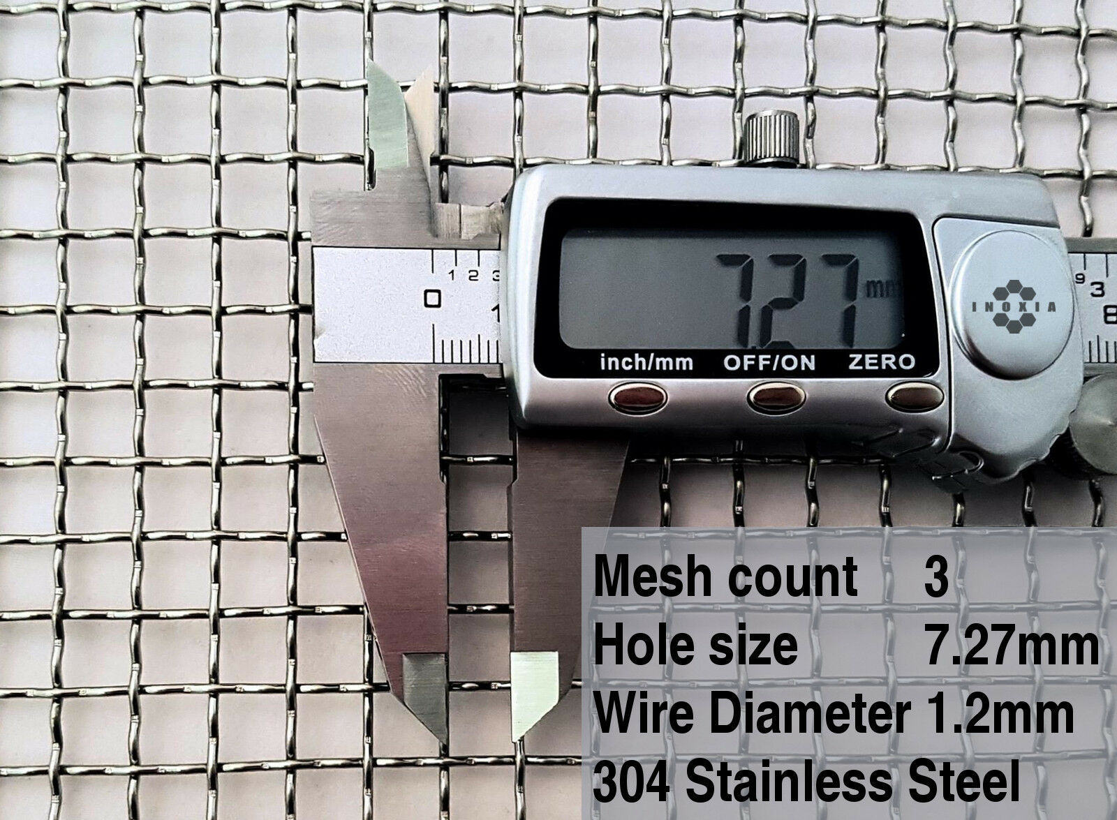 "Stainless Steel 304 Mesh #4 .047Wire Cloth Screen 12/""x48/"""