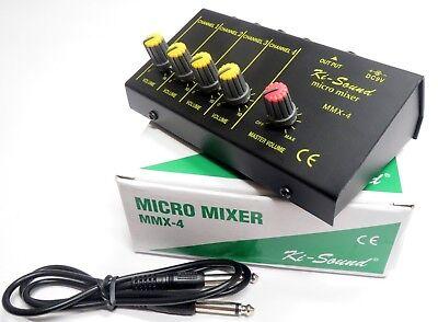 Usato, KI-Sound MMX-4 Micro Mixer 4 Channel usato  Spedire a Italy