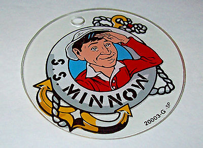 Bally GILLIGANS ISLAND Original 1991 NOS Pinball Machine Plastic KeyChain Clear