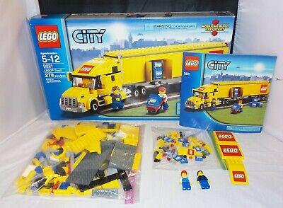 Lego City 3221 - Lego Truck - COMPLETE w/ Box