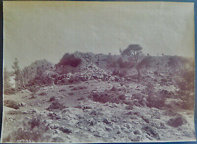 Attica Greek Phyle fort unidentified photographer Vintage Albumen photo, c. 1880