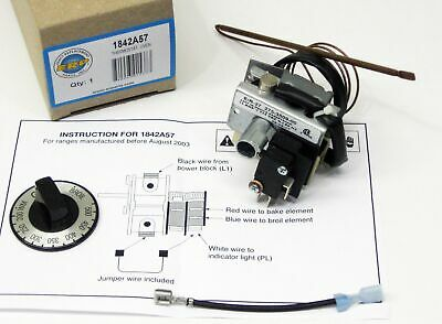 1842A57 Brown Range Electric Oven Thermostat Control for 184