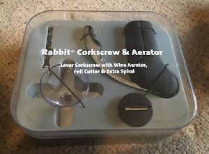 'Rabbit' Corkscrew & Aerator