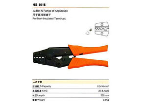 For-Non-Insulated-Terminals-Ratchet-Crimping-Plier-AWG-20-8-HS-1016