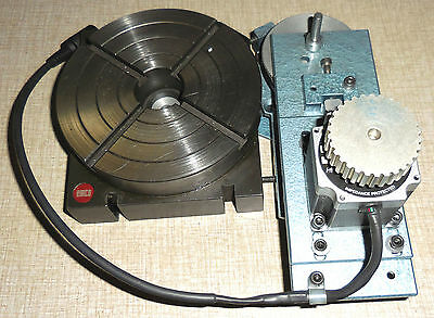 Emco Maximat Fb-2 Indexing Rotary Table With Cnc Control Nema 23 Stepper Motor