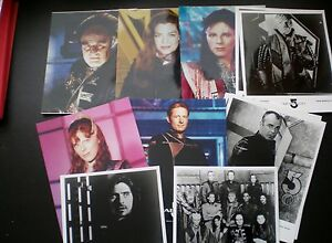 Babylon-5-10-x-8-Photographs-9-Different-out-of-12-1990s