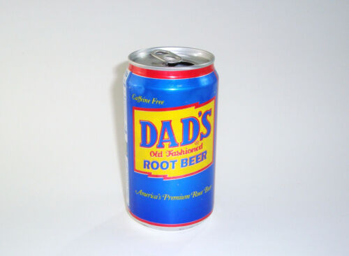 Vintage 90s Dads Root Beer Soda Can Paragould AR Arkansas