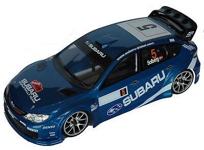 1:10 RC Clear Lexan Body Subaru Impreza WRC08 190mm Electric racing shell Colt#