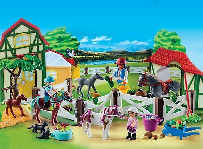 Horse ADVENT CALENDAR Christmas Countdown Playmobil Stables Building Set Age 4+