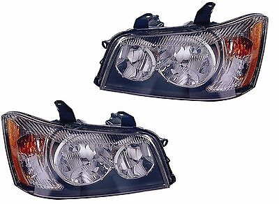 WINNEBAGO JOURNEY 2010 2011 2012 PAIR HEADLIGHT HEAD LAMP RV MOTORHOME - SET