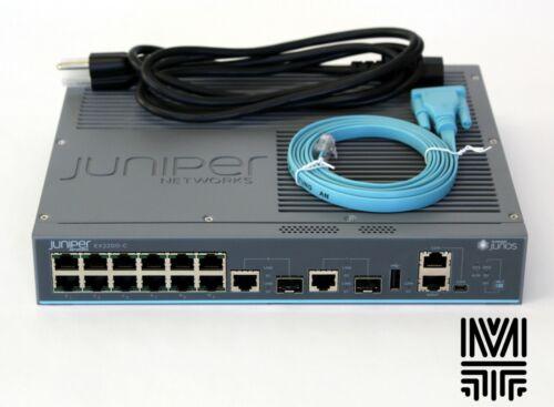 Juniper Networks EX2200-C-12T-2G 12GE Ports Gigabit Ethernet Switch