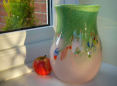 Vasart Crystal Art Glass Vase