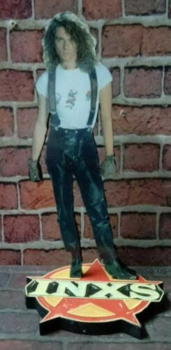 """MICHAEL HUTCHENCE INXS DISPLAY 8"""" STANDEE Figure Statue Cutout Toy Standup Doll"""