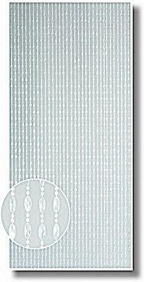 96 x 200 cm Fadenvorhang Glitzer Wandvorhang Fadengardine Gardine Raumteiler