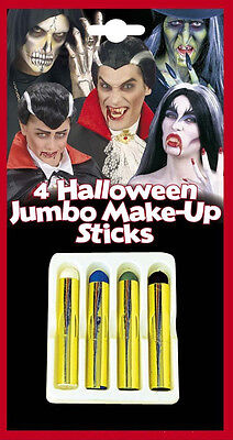 e Halloween Make up Schminke schwarz weiß blau grün  21ml (Grüne Halloween-make-up)