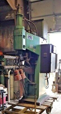100 KVA Acme Electric Welding Co Resistance Type Spot Welder #PT1S-30-100