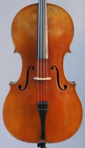 A fine old Mirecourt cello 1900 and new Accord Case