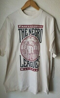 80s Tops, Shirts, T-shirts, Blouse   90s T-shirts Vintage 1980s The Negro Leagues MLB/NLBM T-Shirt Size Lg $125.00 AT vintagedancer.com