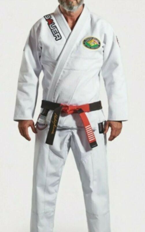 Pedro Sauer Signature GI Grips Athletics BJJ Gracie Brazilian Jiu Jitsu ADULT A4
