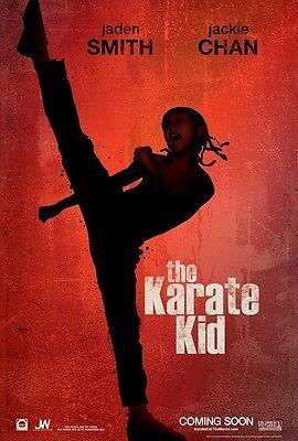 Karate Kid Filmposter: 27.9x43.2cm - Jaden Smith ()